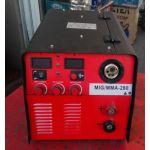 Сварочный инверторный полуавтомат Гладиатор MIG/MMA-280