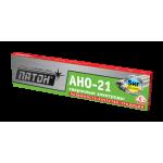 Сварочные электроды ПАТОН АНО-21, 3мм, 5кг для сварки углеродистых и низколегированных сталей