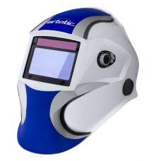 Сварочная маска-хамелеон ARTOTIC SUN7B бело-синяя (3 наружных и 1 внутренняя слюда в комплекте)